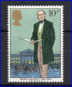 10p ROWLAND HILL UNMOUNTED MINT WITH ROSINE OMITTED