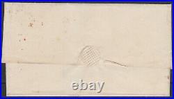 1840 SG2 1d BLACK PLATE 4 SUPER COVER 4 MARGINS HULL TO DEWSBURY (EJ)
