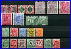 1887-1913 mint collection Victoria-Edward VII