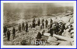 1937 postcard FULMAR HARVEST, ST KILDA with ST KILDA octagonal datestamp