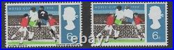 1966 World Cup. SG6d value with black omitted error. Fine unmounted mint