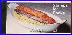 1969 Zp1 £1.00 Cooks (rare stapled) Prestige Booklet