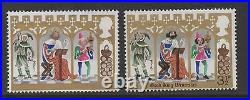 1973 Christmas. SG948b. Black value omitted error. Superb unmounted mint