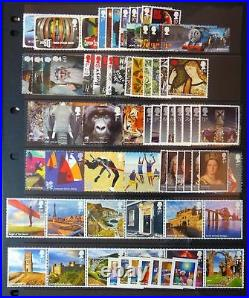 2011 Complete Commemorative Collection without M/Sheets Superb U/M Free p&p