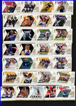 2012 Both Olympic (29) Paralympic (34) Sets Complete U/m