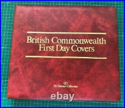 37 British Commonwealth First Day Covers The Sumner Collection Album RARE FDC509