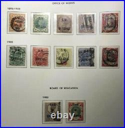 Beautiful collection GB 1840-1951 QV, EVII, GV & GVI Cat Value £100,000