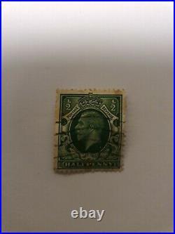 Briefmarke Postage Revenue Halfpenny