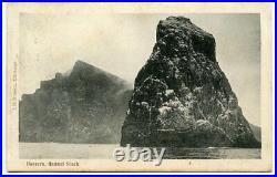 C. 1904 postcard ST KILDA c. D. S. On KEVII ½d BORRERA, GANNET STACK
