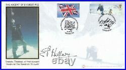 EDMUND HILLARY Signed 2003 GB Extreme Endeavours Everest Ascent Buckingham Cover