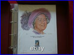 First Day Stamps Lithographs Limited Edition with Folder Stunning
