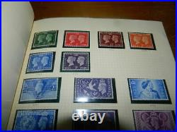 GB 1935 1984 Mint Stamps Collection In Album