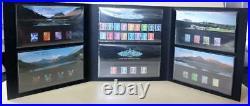 GB 2002 Definitive Machin Presentation Pack Collection Folder 6 Packs High Value