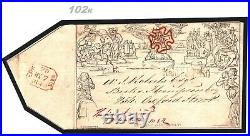 GB MULREADY 7th May Date 1840 Cover SECOND DAY Superb MX Maltese Cross 102k