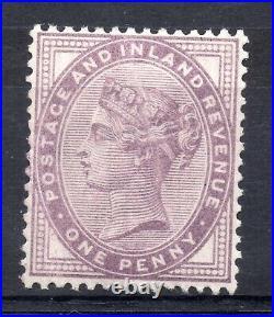 GB = QV 1881 1d Bluish Lilac (16 Dots) SG172a, MNH single