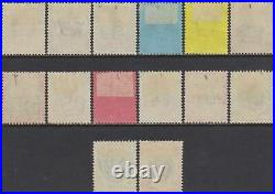 GB QV 1887 Jubilee Set, Mint MH