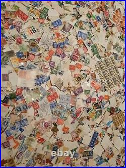 GB QV KINGS QE2 Mixture Off Paper 1840-1990s 100 Unsorted Stamps Watermarks