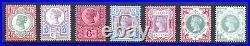 GB QV SG197-SG214 1/2d 1/- Jubilee Set Fine/Very Fine Unmounted Mint Cat £950