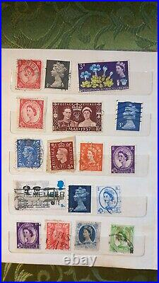 GB UNIQUE COLLECTION(QV-QEII) + KEVIII and QEll STAMPS with inking print errors