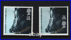 GREAT BRITAIN 1985 34p FILM STARS WITH SILVER SHIFT SG 1302var. MNH