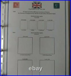 Great Britain Stamp Album
