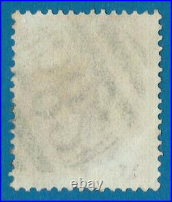 Mag876 GB 1867 used abroad in Naguabo Porto Rico SG#Z60 10d Brown Cancel 582
