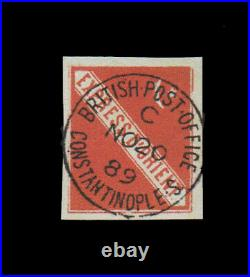 Orient Express Constantinople, British Post Office Used Rare local
