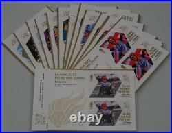 Paralympic Gold Medal Winners mini sheets. Complete set or singles medals 31-34