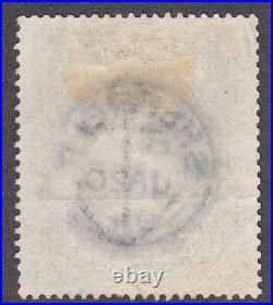QV GB SG183 10/- Ultramarine Sheffield 1894 CDS LG Surface Printed Victorian
