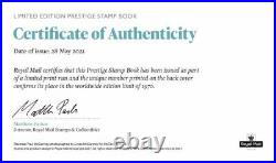 ROYAL MAIL PAUL MCCARTNEY LIMITED NUMBERED PRESTIGE STAMP BOOK sealed beatles