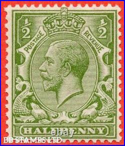 SG. 355. N14 (10). ½d Very yellow (Cyprus) green. A very fine UNMOUNTED B3027