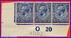 SG. 373 variety N21 (15). 2½d Indigo Blue (toned paper). A UNMOUNTED MINT