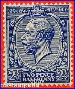 SG. 373 variety N21 (15) 2½d Indigo Blue (toned paper) A superb UNMOUNTED MINT