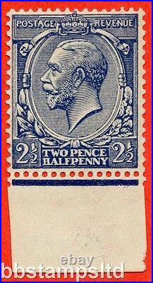 SG. 373 variety N21 (15). 2½d Indigo Blue (toned paper). UNMOUNTED MINT