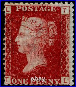 SG44, 1d lake-red plate 225, VLH MINT. Cat £3000. TL