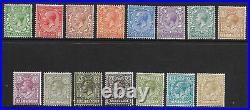 Sg 351 396 Royal Cypher set of 15 Values inc 2 x 9d shades UNMOUNTED MINT/MNH