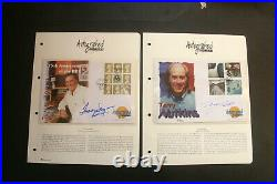 Signed First Day Cover Collection 22 Westminster Autographed Editions in Album