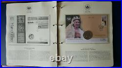 The Queen's Golden Jubilee 2002 Stamp & Coin First Day Cover collection