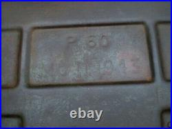 WW2 1943 Stamp Dated British 8th Army Artillery Box, Military Reclamation, VGC
